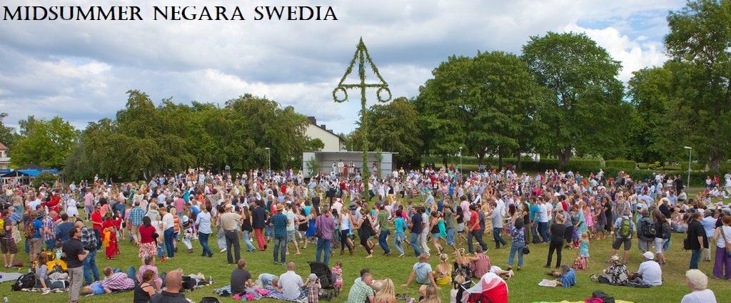 Midsummer Negara Swedia