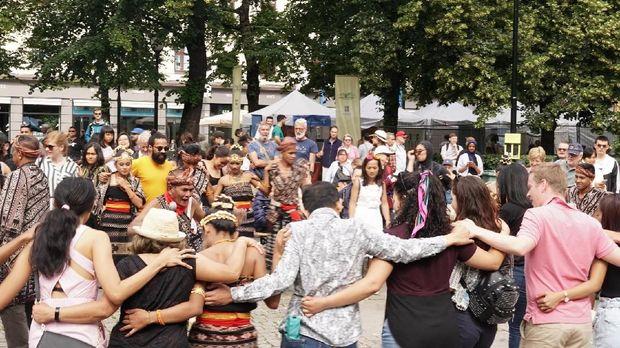 Budaya Indonesia Ikut Meriahkan Festival Musim Panas di Oslo, Norwegia